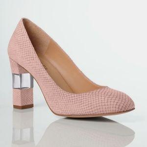 Talbots Leather Gisele Heel In Butternut